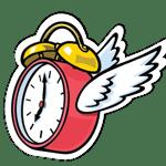 TimeFliesSticker