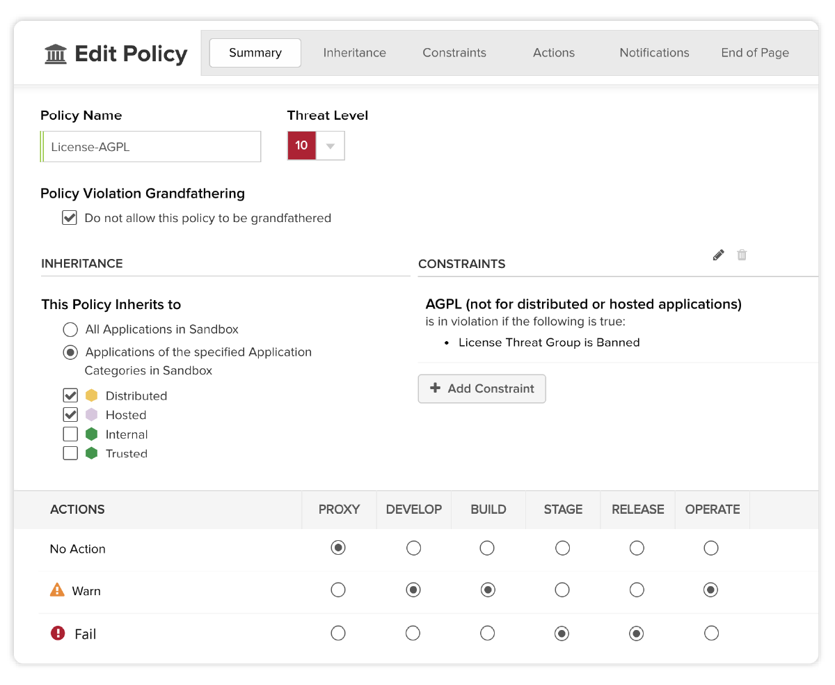 Appliquez des politiques open source